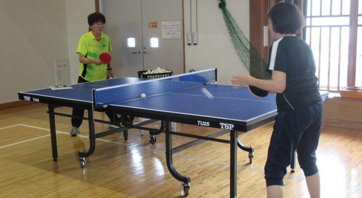 第4期卓球教室